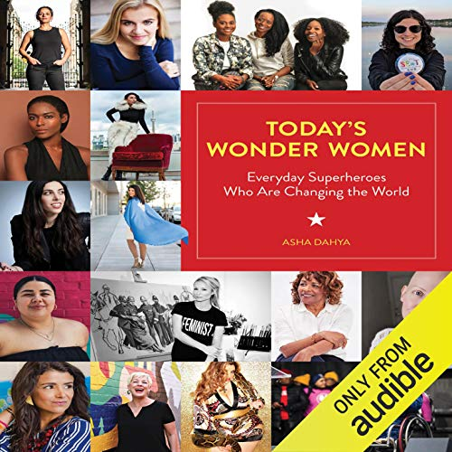 Today's Wonder Women audiobook cover art