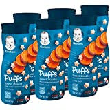 SNACKS FOR TINY HANDS: An ideal snack for your crawler learning to self feed, our Puffs Cereal Snacks are easy to chew & swallow & they're just the right size for little fingers learning to pick up. WHOLESOME INGREDIENTS: Puffs Cereal Snacks are fill...