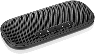 Lenovo 700 Ultraportable Bluetooth Speaker, USB-C & NFC Connectivity, Rechargeable Battery, 2 Hour Charge for 12 Hours Play, IPX2 Splash Resistance, Smaller Than Smartphone, 0.32 Pounds, GXD0T32973