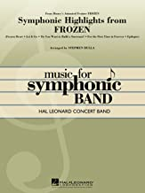music from frozen concert band