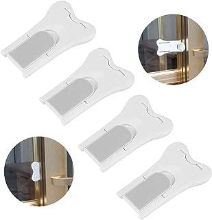 4 unidades cerraduras de puertas correderas para bebés,seguros ventanas correderas,Ranura para puertas correderas y bloqueo ventana corredera seguro para niños de alta calidad para ventana,Blanco: Amazon.es: Bebé