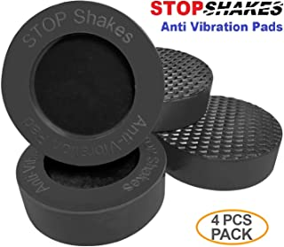 STOP SHAKES Anti Vibration Pads for washer machine, washer and dryer combo. Our UNIQUE SIZE provide the Best result in reducing noise and vibrasion associated with operation of washer and dryer set.