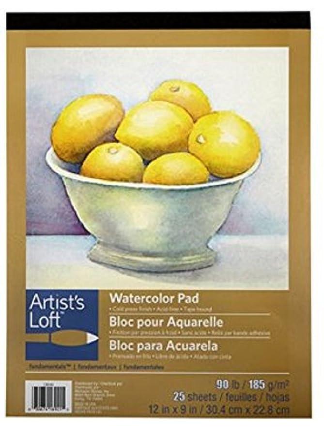 Artist's Loft Fundamentals Watercolor Pad