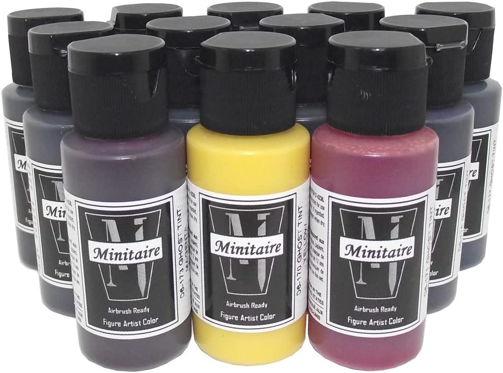 Badger Air-Brush specialty shop Minitaire 12-Color price Ghost transparent Tint Acryl