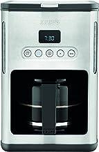Krups KM442D Premium filterkaffemaskin | 10-15 koppar | 1 000 watt | programmerbar | varmhållningsfunktion | rostfritt stå...
