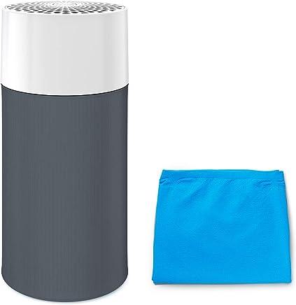 ブルーエア 空気清浄機 Blue Pure 411G 13畳 プレフィルター 2枚(ブル―+グレー)セットモデル Blueair Particle + Carbon 360度吸引 Dark Shadow 201436-G