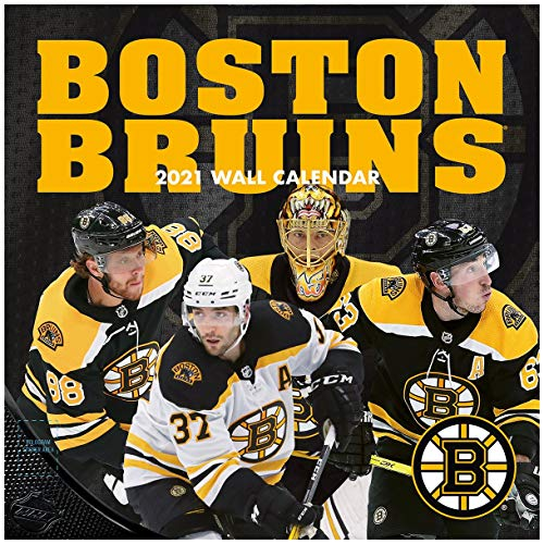 TURNER Sports Boston Bruins 2021 12X12 Team Wall Calendar (21998011932)