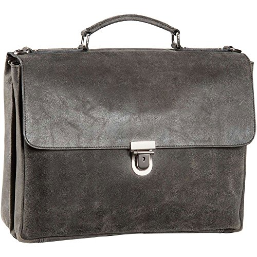 Leonhard Heyden Boston Aktentasche Leder 39 cm Laptopfach