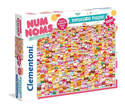 Clementoni 61333 - Puzzle (1000 Piezas), diseño de Num Noms