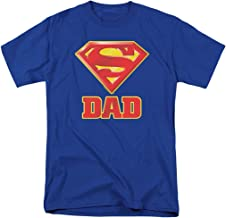Popfunk Superman Superdad Super Dad Logo T Shirt for Father's Day & Stickers