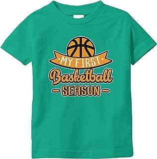 Amdesco My First Basketball Season Infant T-Shirt