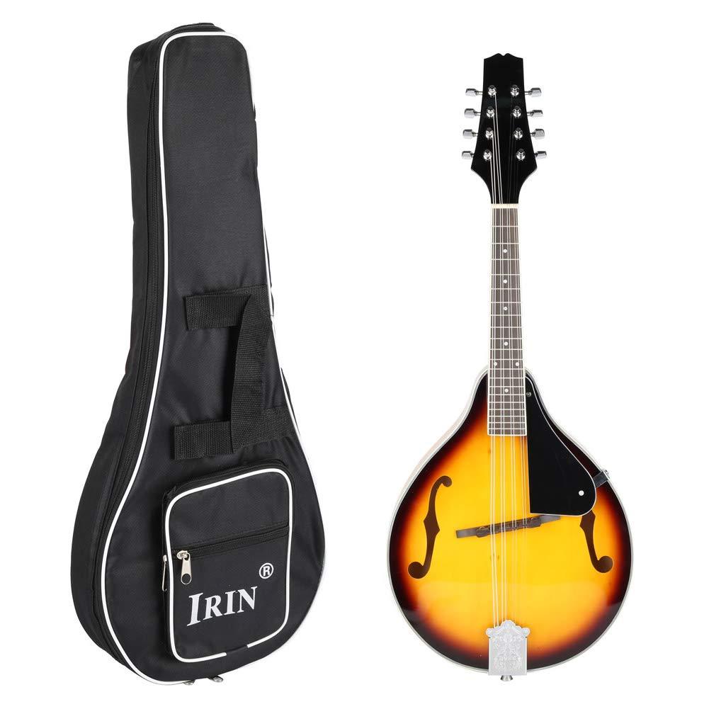 Pack Guitarra clásica, guitarra de madera 8 cuerdas, adultos niños con bolsa de almacenamiento correa púa gamuza: Amazon.es: Instrumentos musicales