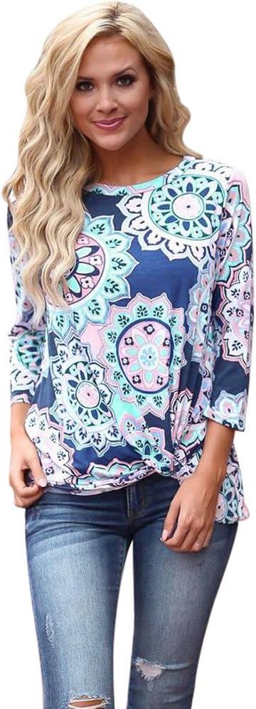 Camisetas Mujer Manga Corta Originales Ronamick Comfort Blusa ...