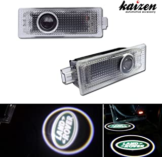 Kaizen 2 Pcs OEM Fit Super Bright LED Laser Ghost Shadow CREE Door Step Courtesy Welcome Light Lamps For Land Range Rover Sport 2008 Discover CAN-bus No Error