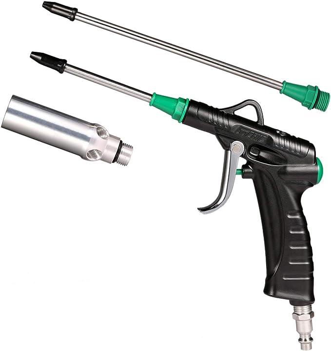14 piezas Herramienta de compresor de aire Boquilla de pistola de soplado Plumero Limpiador de pistola de soplado Kit de accesorios de boquilla neum/ática para quitar el pol Pistola de soplado de aire