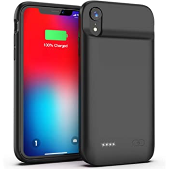 Battery Case for iPhone 11 Black 6.1 inch Swaller 5000mAh Protective Portable Charging Case Rechargeable Extended Battery Pack Charger Case for iPhone 11