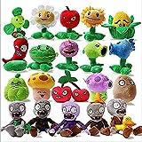 Fenghu Plantas contra Zombies Peluche Toy Traje 20pcs / Lote Plantas vs Zombies PVZ Plantas y Zombies Plantas de Peluche vs Zombies Toy Toy Relleno Muñeca de Peluche para niños Regalos