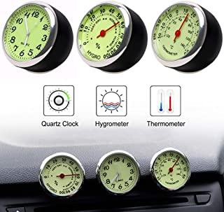 siwetg in out LCD Dual Way Digital Auto Termometro e Orologio ST2