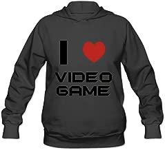 I Love Video Game Fashion Roundneck Long Sleeve Sweatshirt For Women's