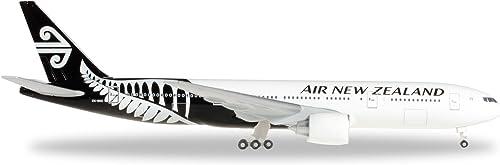 orden ahora con gran descuento y entrega gratuita Herpa 528450 528450 528450 Air New Zealand Boeing 777 200, avión, Color blanco y negro  más orden