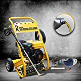 RocwooD Petrol Pressure Washer 3000 PSI 7HP 10 Litre High Power Jet FREE Vacuum