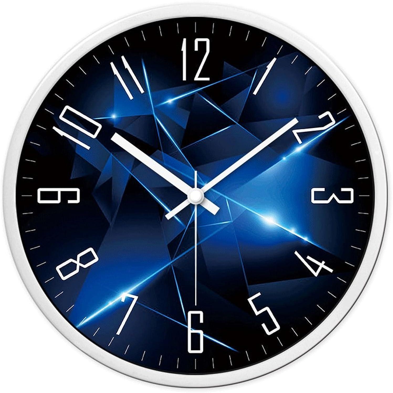 toma A_Feel Reloj de Parojo Reloj Creativo Creativo Creativo Dormitorio Mudo Reloj Moda Reloj de Pulsera Moderno Simple Personalidad Reloj de Cuarzo (Color   B, Tamao   12 Pulgadas)  ventas en linea