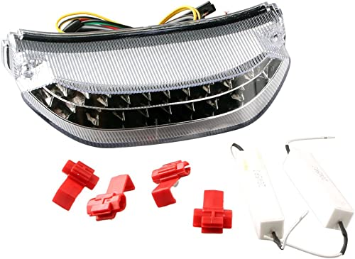 lowest Mallofusa Motorcycle Integrated Taillight LED sale Brake Tail Light Compatible for Honda CBR sale 600RR 2013 2014 Clear Lens online sale