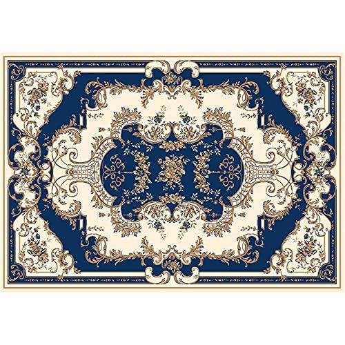 WCCCW Colore Geometrico Astratto Etnico Pattern Etnico Casual e Confortevole Studio Tavolino da caffè Decorazione del corridoio Decorazione della casa-60x90cm. Grandi Dimensioni Salotto Moderno tapp
