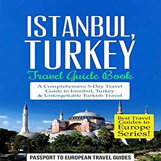 Istanbul: Istanbul, Turkey: Travel Guide Book cover art