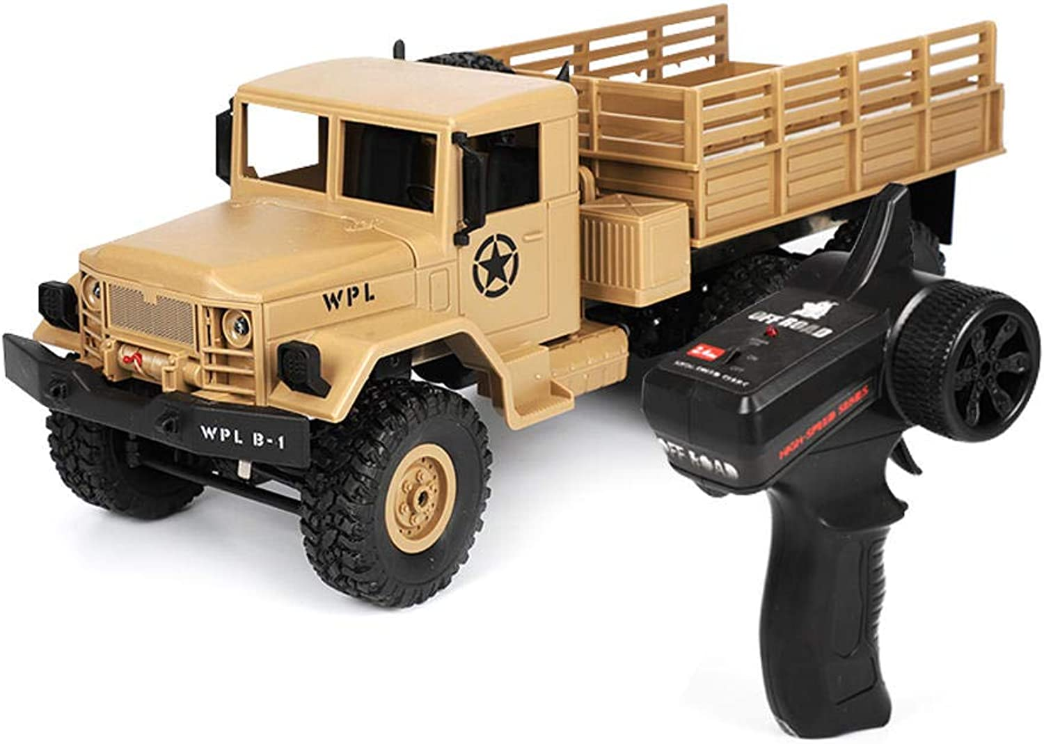 WPL B16 1 16 2.4G 6WD Truck Crawler Off Road RC Car With Light RTR COD