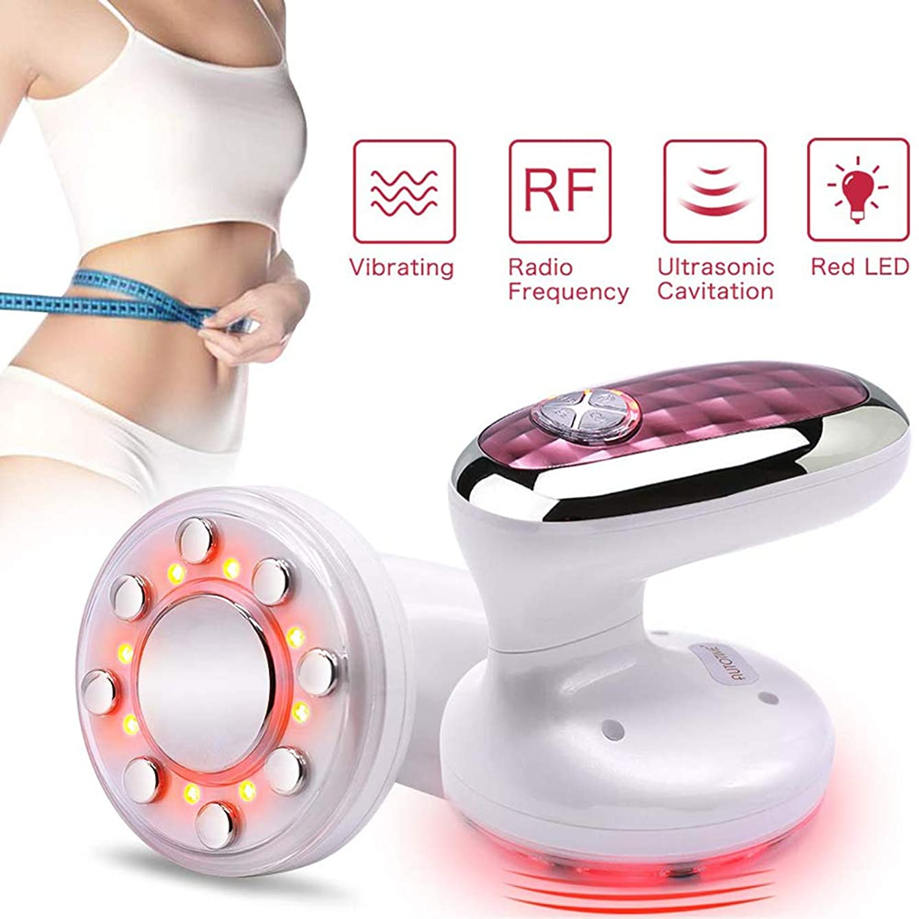 しっとりタール鷲脂肪除去機、1つの再充電可能な脂肪に付き3つは腕の脚の皮のきつく締まることのための美装置を取除きます