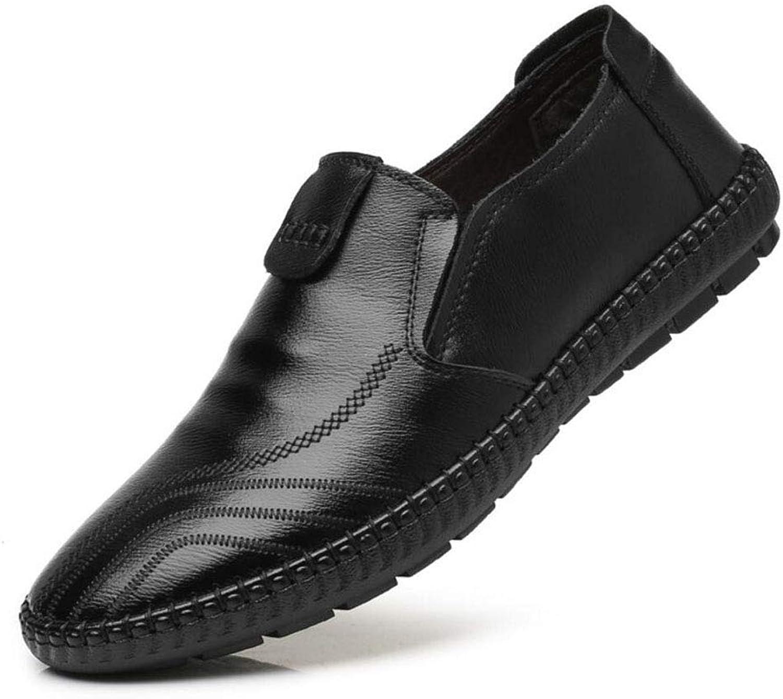 YAN Herrenschuhe Slip on Driving Schuhe Leder Leder Leder Frühjahr & Herbst Casual Loafers Flach Mode Comfort Loafers Lässig Täglich Wanderschuhe Driving schuhe 37-47  9a916e