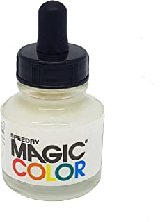 Magic Color MC800 28ml Liquid Acrylic Ink, Lunar White