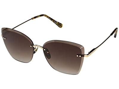 DIFF Eyewear Willow (Gold/Brown) Fashion Sunglasses