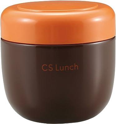 パール金属 スープ ジャー 300ml ブラウン 保温 保冷 フードポット CS ランチ UE-3359
