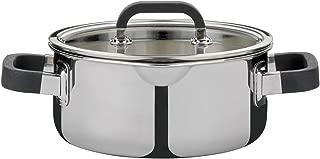acciaio INOX e vetro Rostiera per aromi con inserto in acciaio al carbonio colore: Nero GSW 414593 39 x 25 cm