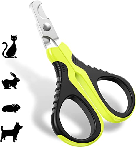 JOFUYU Cat Nail Clippers and Trimmer - Professional Pet Nail Clippers and Claw Trimmer - Best Cat Claw Clippers for R...