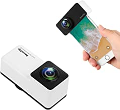XINLON Panoramic Lens,360 Camera,Double 180 Degree Fish-Eye Lens,Clip on 2 in 1 Cell Phone Lens for (iPhone 7/8, 4.7 in)