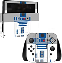 MightySkins Skin Compatible with Nintendo Switch - Cyber Bot   Protective, Durable, and Unique Vinyl Decal wrap Cover   Easy to Apply, Remove, and Change Styles   Made in The USA