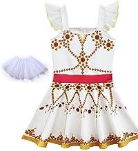 Freebily Ragazza Felicie Ballerina Vestiti Bambina Principessa Abiti Eleganti Estivi Corti Costume da Ballerina per Bambina Matrimoni Sposa Compleanno 12 Mesi-8 Anni