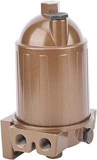 Qii lu Conjunto de separador de agua con filtro de combustible diesel compacto multifunción 110A para yates, tanques, máquinas de lubricación y camiones cisterna de aceite