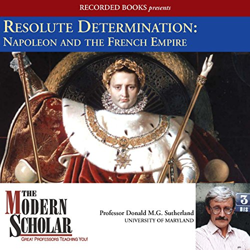 Resolute Determination audiobook cover art