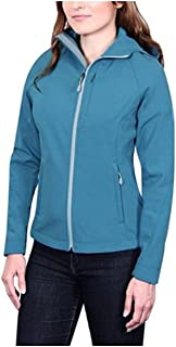 Kirkland Signature Ladies Softshell Jacket (Medium, Teal)