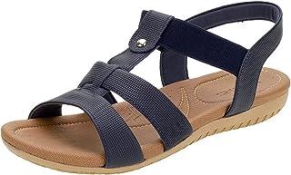 Sandália Usaflex R1834 Salto Baixo Feminino