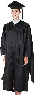 Unisex Deluxe Master Graduation Gown Cap Tassel Package