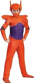 Disney Boys Big Hero 6 Baymax Theme Outfit Child Halloween Costume