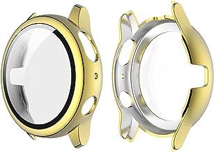 Romacci Capa de revestimento para PC rígido com protetor de tela de vidro temperado HD com cobertura total Capa protetora ...