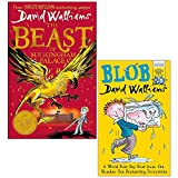 David Walliams Collection 2 Books Set (The Beast of Buckingham Palace [Hardcover], Blob)