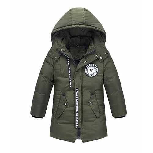 582ca13b9cc24b キッズ ダウンコート 中綿コート ロング丈 子供 ダウンジャケット フード付き ジュニア 女の子 男の子 軽量