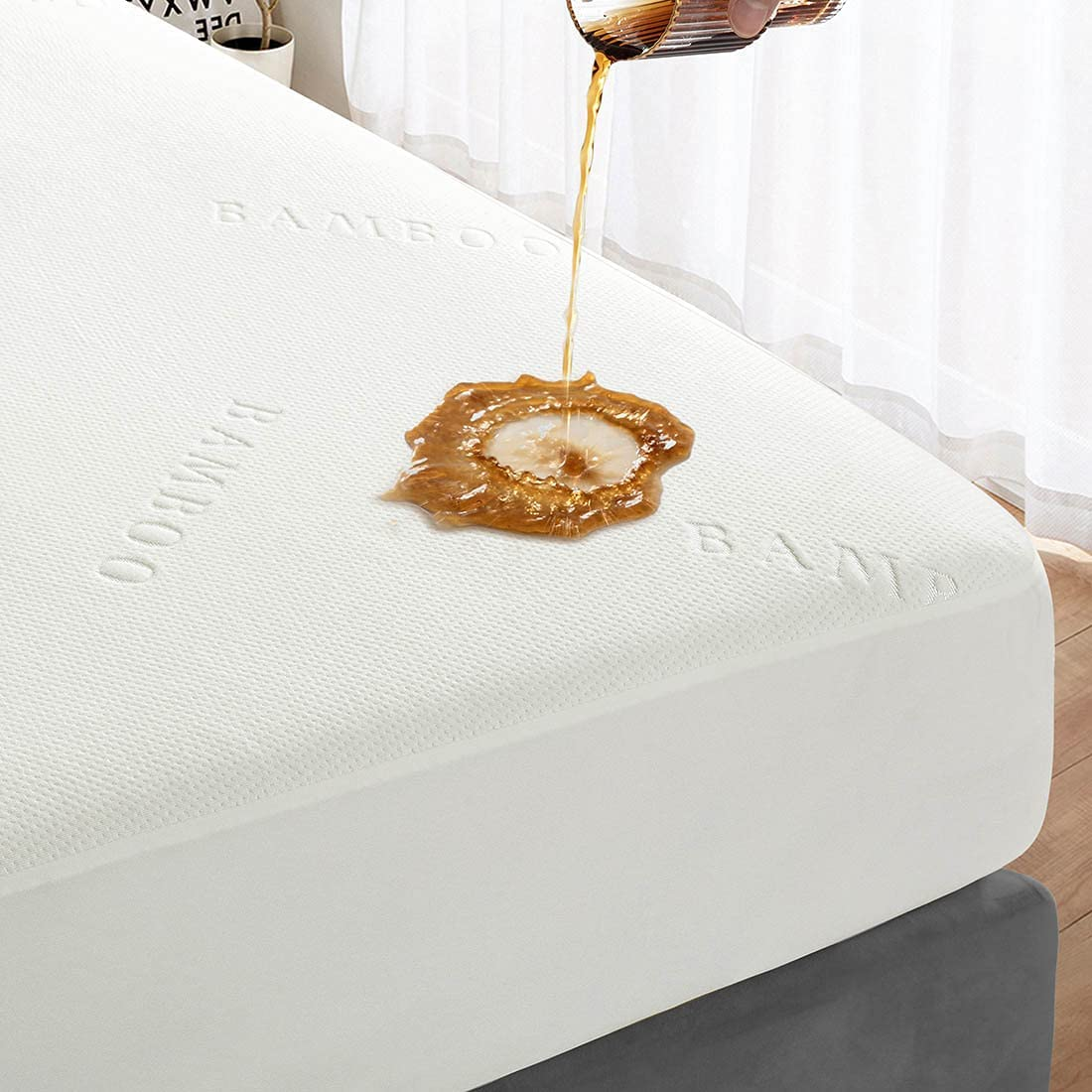 YINSTAR Mattress Boston Mall Protector Queen Beauty products P Size 100% Waterproof